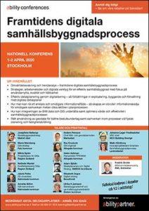 Konferens 1-2 april
